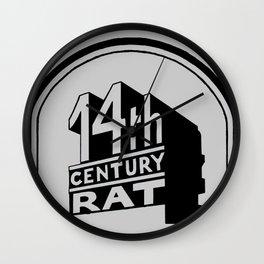FOURTEENTH CENTURY-RAT Wall Clock