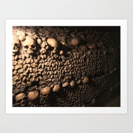 Wall of Souls Art Print
