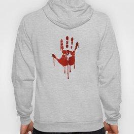 Bloody halloween hand Hoody