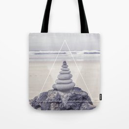 Rockbalancing And Geometry Tote Bag