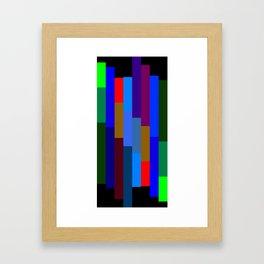 """Technicolor Beat"" Framed Art Print"
