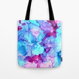 Parrot Tulips in the Wind by Studio 1153 Tote Bag