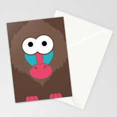 Minimal Baboon Stationery Cards