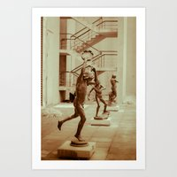 game Art Prints featuring Game by Sébastien BOUVIER