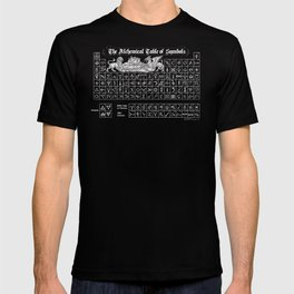 The Alchemical Table of Symbols T-shirt