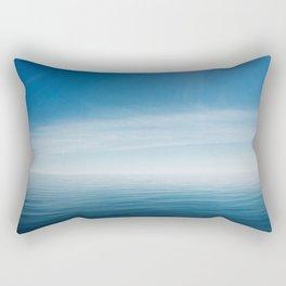 sky meets lake Rectangular Pillow