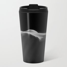 Woman's Torso in Black and White Travel Mug