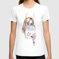 sky ferreira T-shirts featuring Sky Ferreira by Ash Tarek