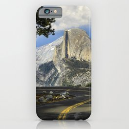 Yosemite Road To Half Dome   6-5-19 iPhone Case