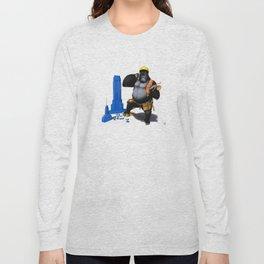 Building an Empire (Wordless) Long Sleeve T-shirt