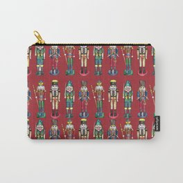 The Nutcracker Prince Pattern Red Carry-All Pouch