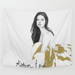 Adriana Lima Wall Tapestry