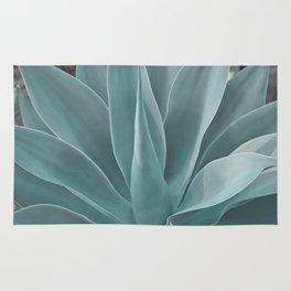 Azul Agave Plant Rug