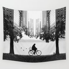 Ride Away Wall Tapestry