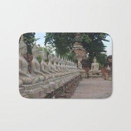 Buddha statues at Wat Yai Chai Mongkhon Bath Mat