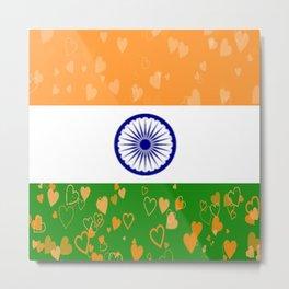 Love India-458 Metal Print