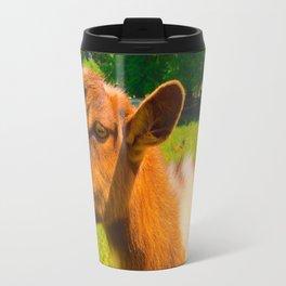 Nigerian Dwarf Goat Travel Mug