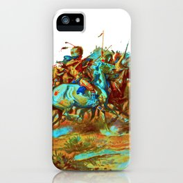 charles marion russel (custer fight)1903 iPhone Case