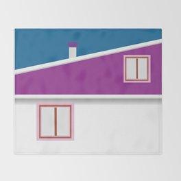 Rooftop Throw Blanket