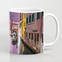 Venice Italy Canal at Sunset Photograph Coffee Mug