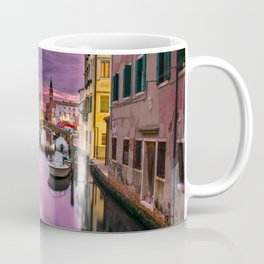 Venice Italy Canal at Sunset Photograph Coffee Mug