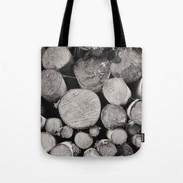 The Woodpile Tote Bag