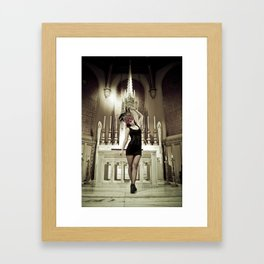 Danielle Framed Art Print