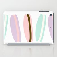 macaroon iPad Cases featuring MACAROON LOVELINESS!  by Melody Joy Designs