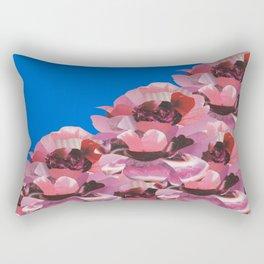 BLUE ROSE GARDEN Rectangular Pillow