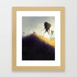 The Earth Giants Framed Art Print