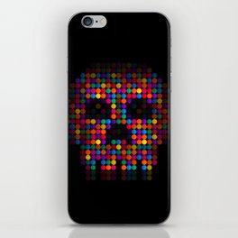 A Colorful Death by Qixel iPhone Skin