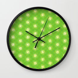 Eggs or Daisys Wall Clock