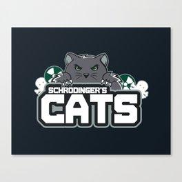 Schrodinger's Cats Canvas Print