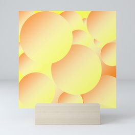 Sunny Bubbles Mini Art Print