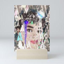 Audrey Type Abstract Art Mini Art Print