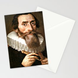 Johannes Kepler was a German mathematician and optician Stationery Cards