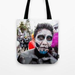 Blue eye Catrina Tote Bag