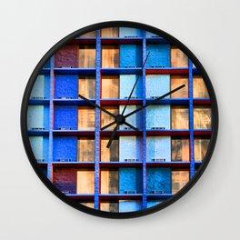 Block Living Wall Clock