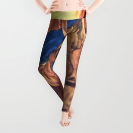 The Fighting Filipinos Leggings
