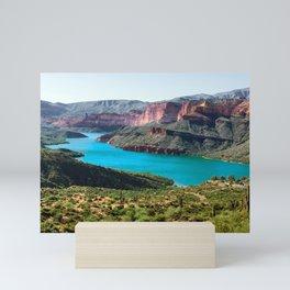 Apache Lake Arizona Mini Art Print