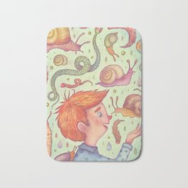 Snakes and Snails and Puppy-Dogs' Tails Bath Mat