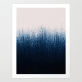 Jean Ombré Art Print