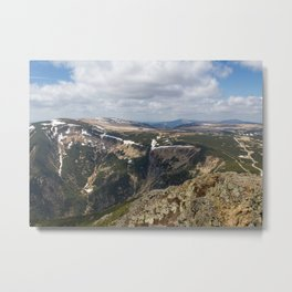 View from Sniezka Metal Print