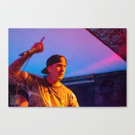 Zachary Scott - It Lies Within @ Counter Culture [May 1 2016] Saginaw , MI Canvas Print