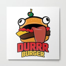 Durr Burger Metal Print