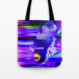 ANGEL FISH Violet Purple Tote Bag