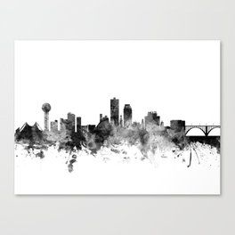 Knoxville Tennessee Skyline Canvas Print