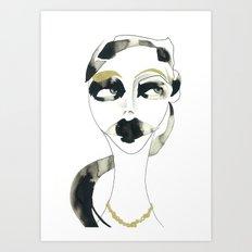 I dont care Art Print
