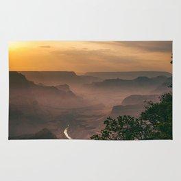 Grand Canyon - South Rim - Evening Haze Rug