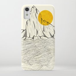 Sun Cliffs iPhone Case